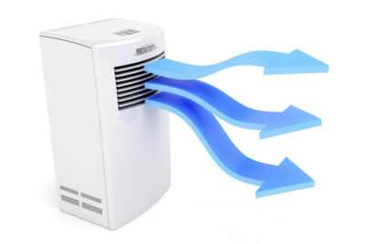 aliran udara perangkat pendingin udara