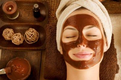 spa wajah cokelat