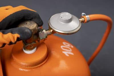 tabung gas jingga