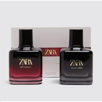 Zara Black Amber & Red Vanilla